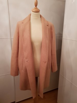Zara Basic Between-Seasons-Coat beige-camel
