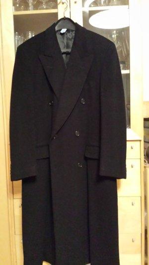 Mantel Cantarelli lang Blazerschnitt schwarz klassisch reines Cashmere Gr. 40/42