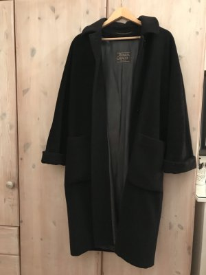 Renata Gibaldi Oversized Coat black new wool