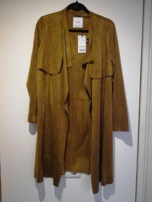 Mantel Coat Ocker