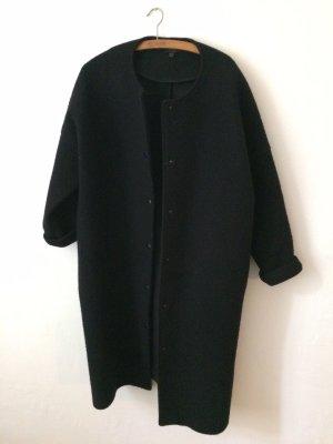 COS Cappotto in lana nero Lana