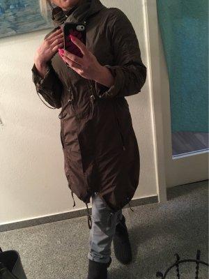 Heavy Raincoat taupe