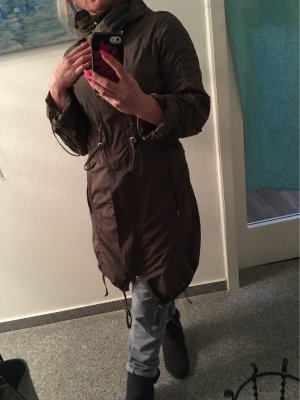 Manteau de pluie taupe