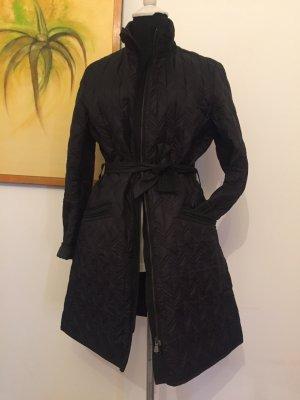 Versace Jeans Manteau en duvet noir polyamide