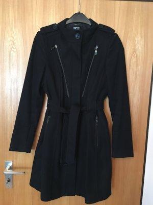 Mantel Damen schwarz Gr. 38