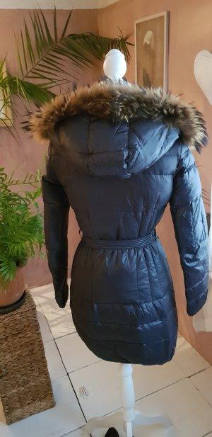 Manteau en duvet bronze-brun foncé