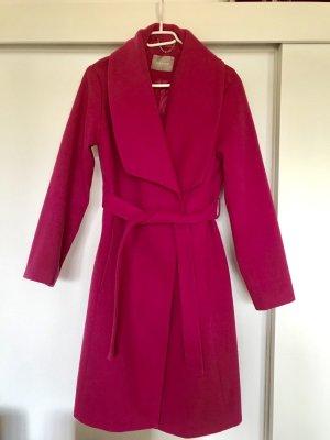 Orsay Abrigo de lana rosa