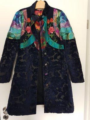 Desigual Short Coat blue