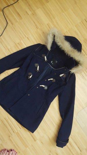 Mantel dunkelblau dufflecoat style