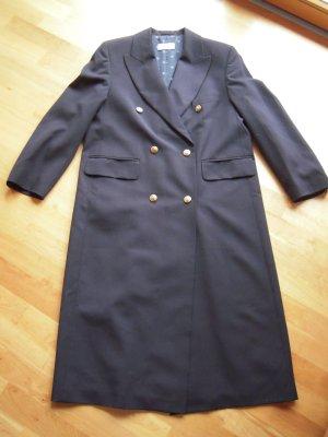 Mantel dunkelblau lang