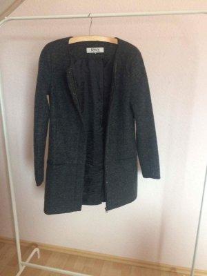 Mantel dunkelgrau elegant