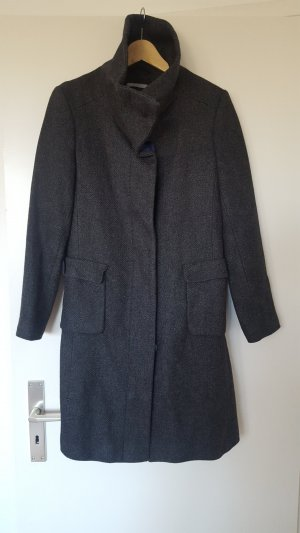 3 Suisses Cappotto in lana grigio scuro