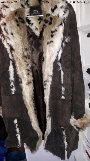 Mantel echt Leder