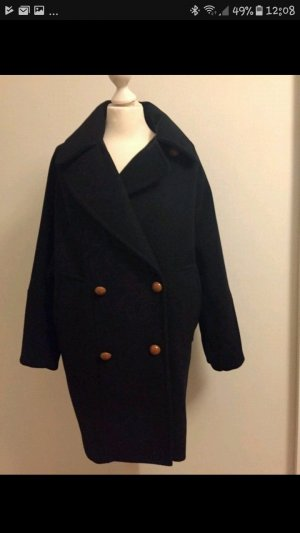 Zara Oversized Jacket dark blue