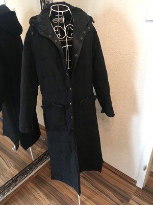 Emporio Armani Capuchon jas zwart