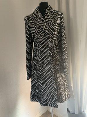 Escada Manteau en laine blanc-noir