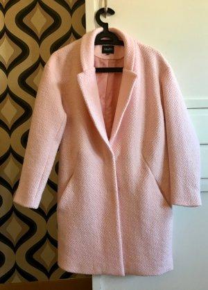 mbyM Cappotto taglie forti rosa pallido Poliestere