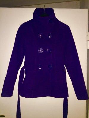 Wool Jacket dark violet