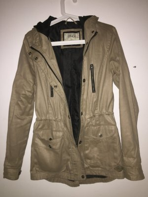 Only Leather Coat beige