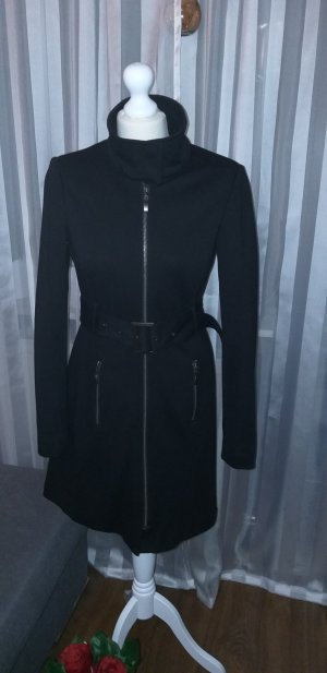 Clockhouse Between-Seasons-Coat black