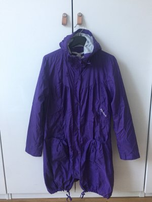 Fenchurch Hooded Coat lilac-dark violet