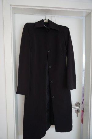 Mantel für den Übergang schwarz GR. XS