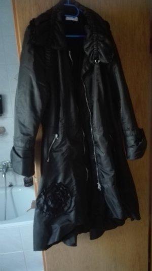 Linea Raffaelli Geklede jurk zwart
