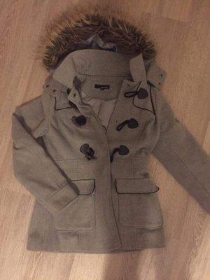 Tally Weijl Manteau à capuche gris