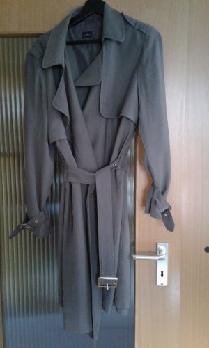 Your Sixth Sense Oversized Coat grey brown