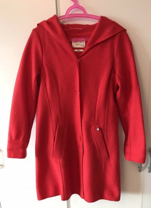 Capuchon jas rood