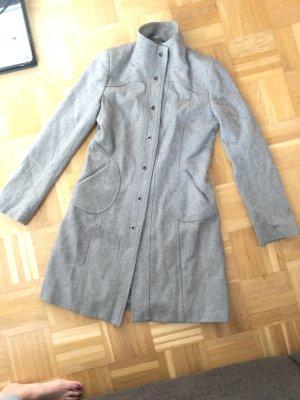 Orsay Cappotto in lana grigio-grigio chiaro