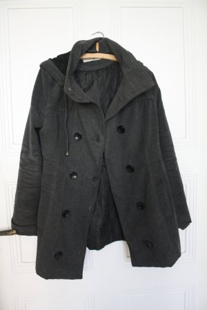 Clockhouse Hooded Coat anthracite polyester
