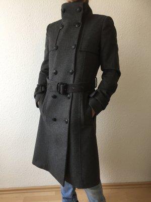 Mantel grau von Mango Suit