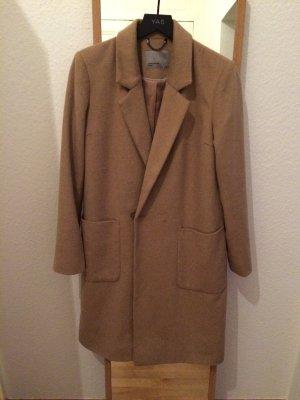 Mantel Größe 38 beige
