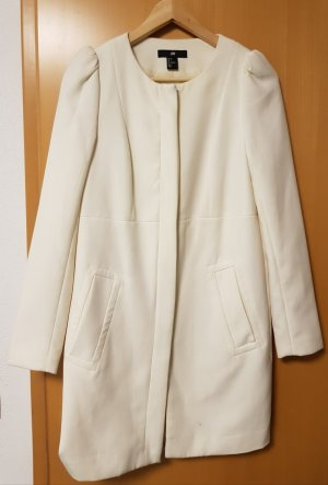 H&M Short Coat white