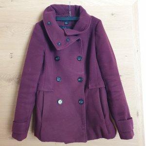 H&M Abito cappotto marrone-viola