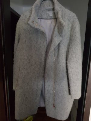 H&M Between-Seasons-Coat light grey