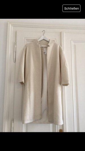 H&M Oversized Coat natural white