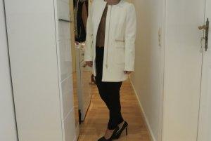 Mantel H&M weiß gold
