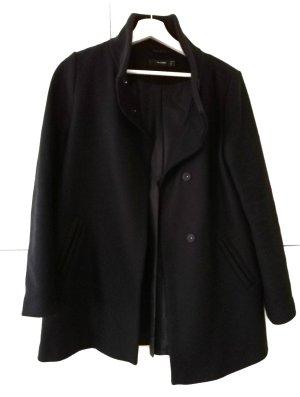 Mantel Hallhuber Größe 36/S schwarz