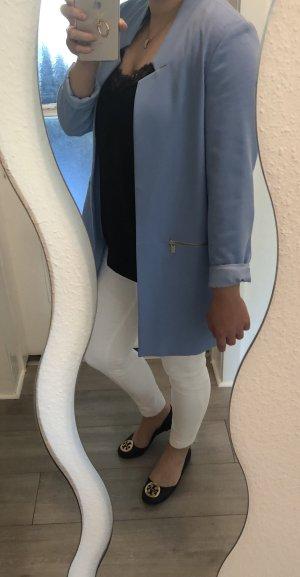 Mantel hellblau