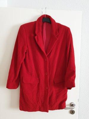 Sisley Oversized Coat red