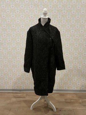 Mantel Herbst Textil meliert