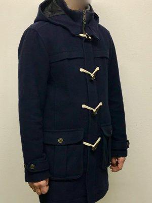 Cappotto invernale blu scuro Lana