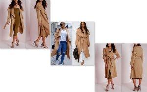 Mantel im Kim Kardashian Style Gr. L - NEU -
