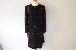 Prada Trench Coat black-lilac wool