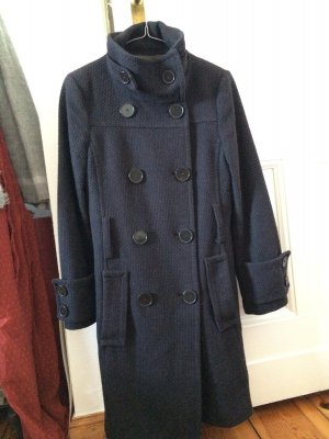 Mantel in Anthrazit von Zara, Blogger, Winter