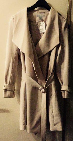 Mantel in créme/beige Tönen