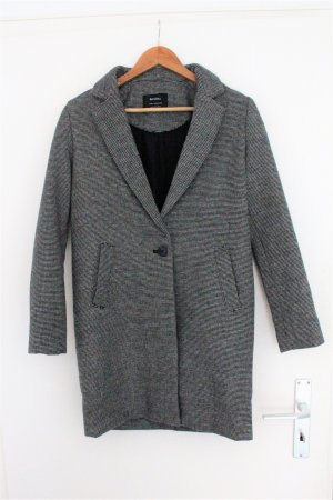 Bershka Cappotto in lana grigio