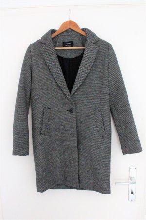 Mantel in grau Bershka Größe XS